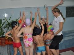 Szkoła Pływania - Zajęcia na basenie
